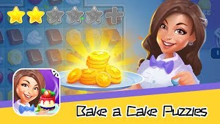 Bake a Cake Puzzles & Recipes - Walkthrough Triple Elimination Recommend index two stars