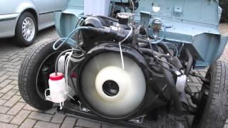 moteur d'une ami6 en remontage
