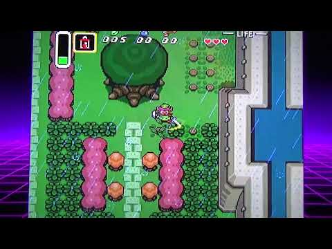 It's princess saving time/ The Legend of Zelda A Link To The Past part one.