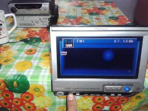 pionner cd retratil avh p6400cd youtube rh youtube com Pioneer AVH 3300 Installation Pioneer AVH