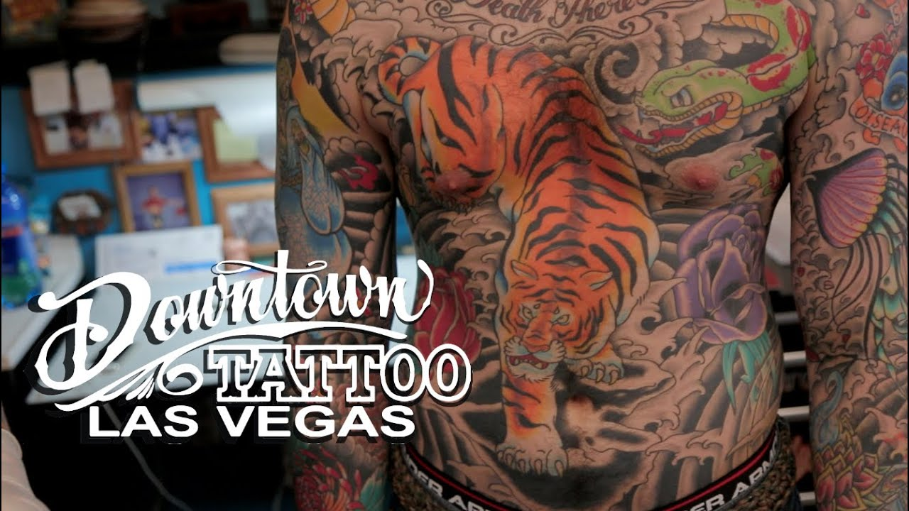 Best Tattoo Shop in LAS VEGAS!!! Downtown Tattoo - YouTube