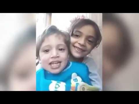 Bana van 7 jaar filmt de oorlog in Syrië