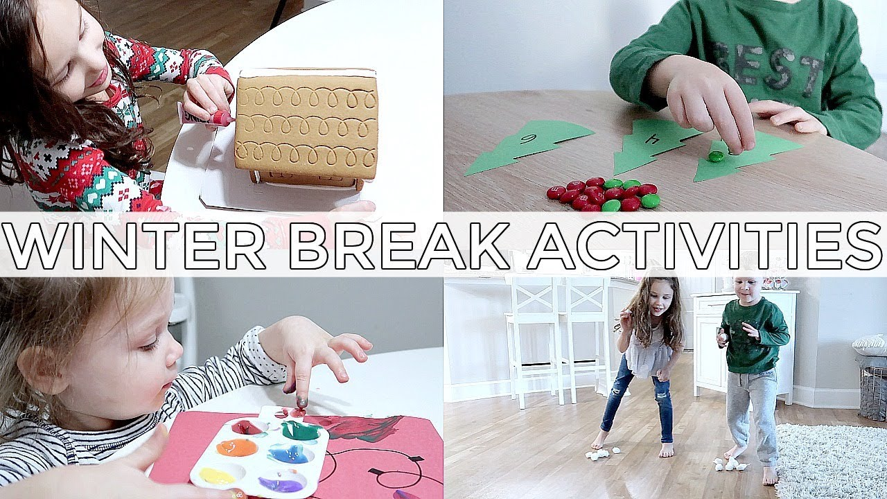 Fun Indoor Kid Activities And Baby Makes Six Youtube