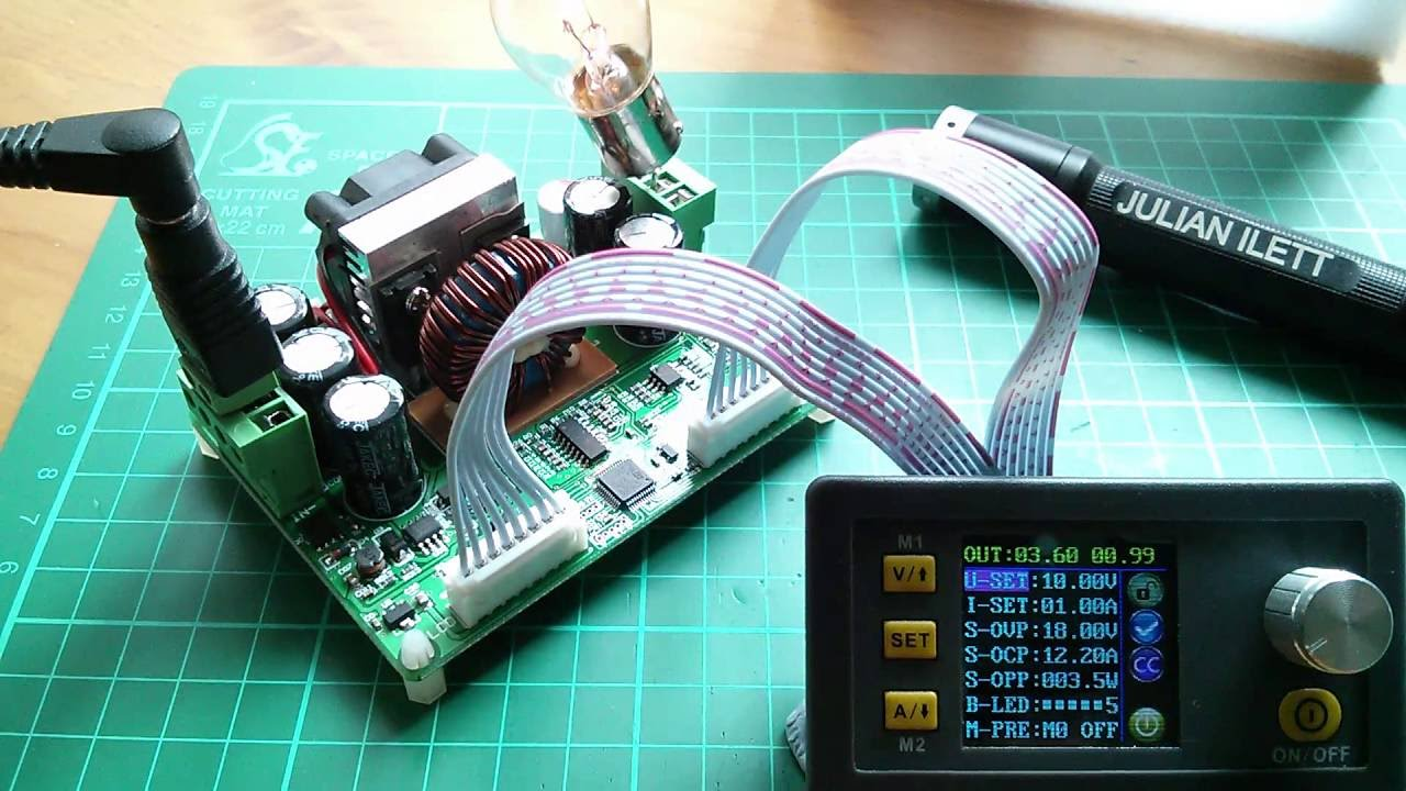 First Look Dps3012 Cc Cv Buck Converter With Colour Lcd Supercap Charger Plus A 5v At 4a Dc From 55v To 30v