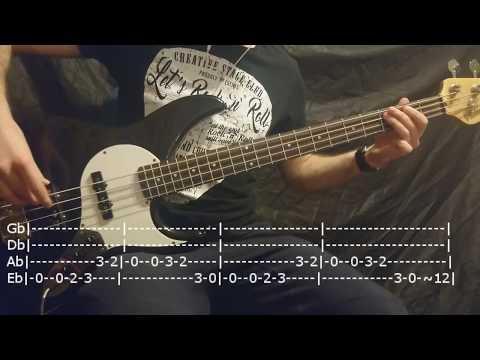 Gorillaz - Feel Good Inc. Bass Cover Tabs