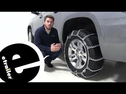 Etrailer | Glacier Twist-Link Snow Tire Chains Installation - 2019 Chevrolet Suburban