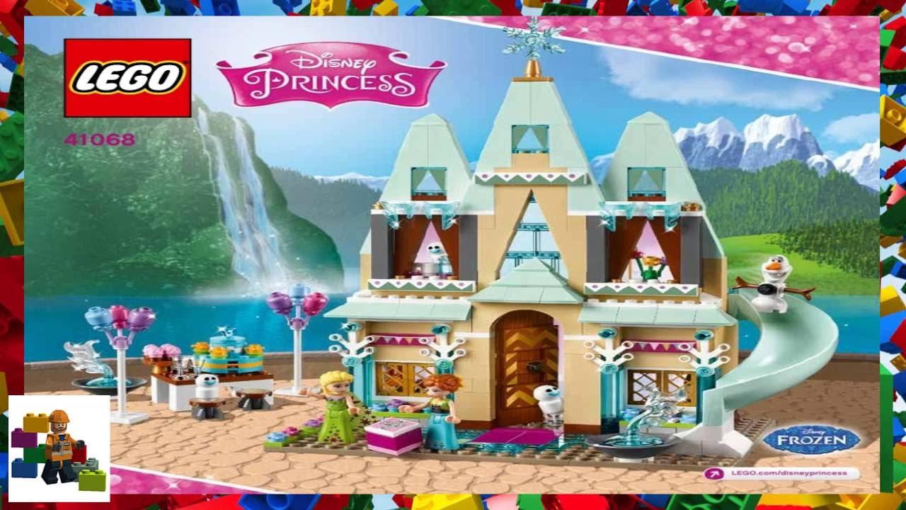 Lego Instructions Disney Princess 41068 Arendelle Castle