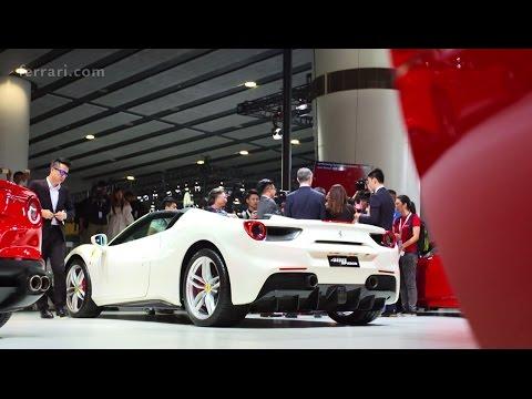 Ferrari 488 Spider at Auto Guangzhou 2015