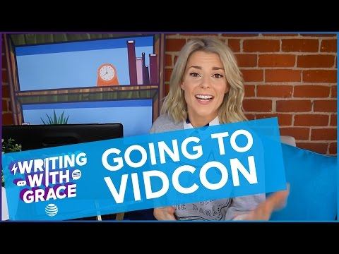 WRITING WITH GRACE // Grace Helbig