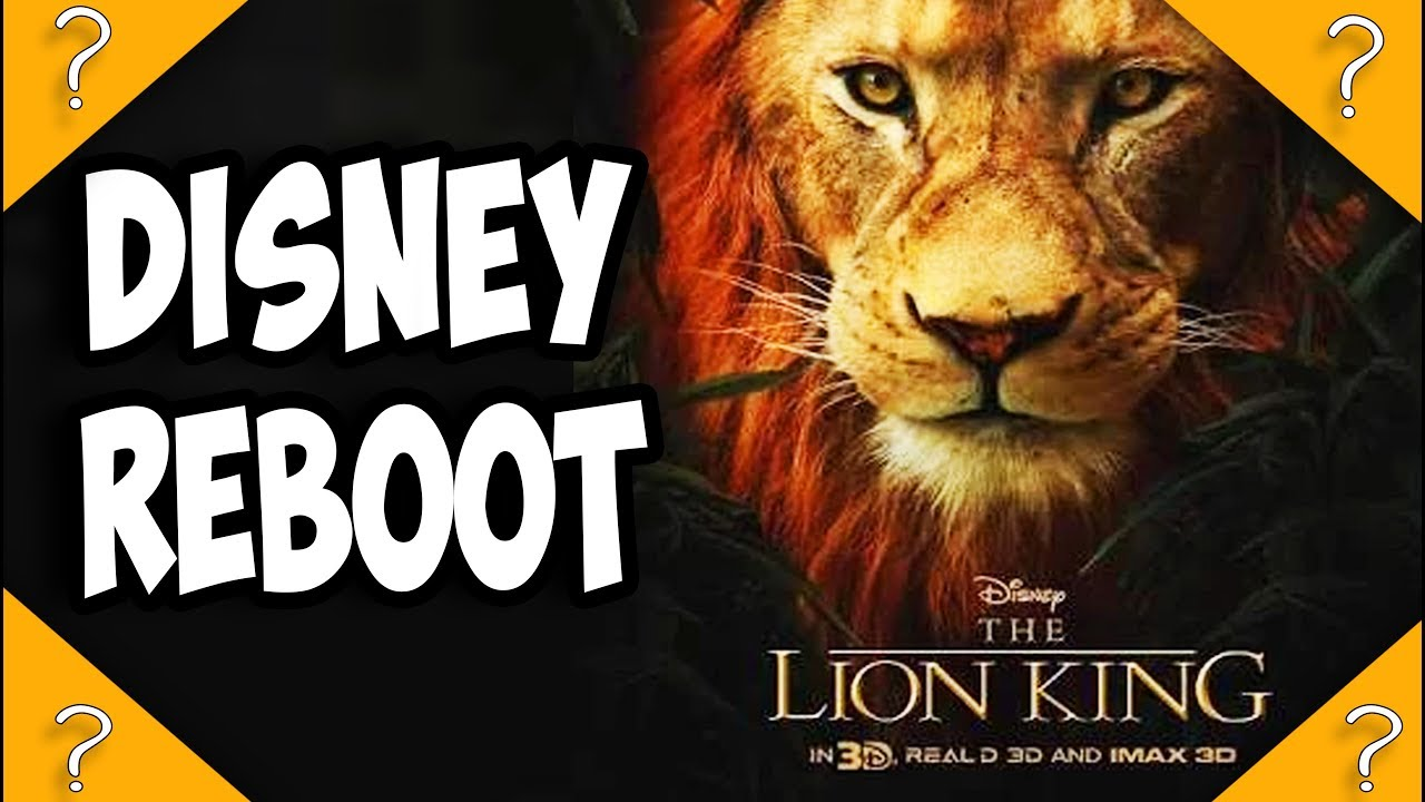 The Lion King Live Action 2019 Reboot Release Date Set