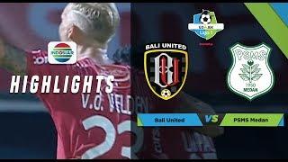 LIGA 1: Bali United 1 - 0 PSMS Medan - Full Highlights