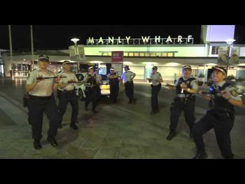 NSW dance to 'Running Man Challenge'