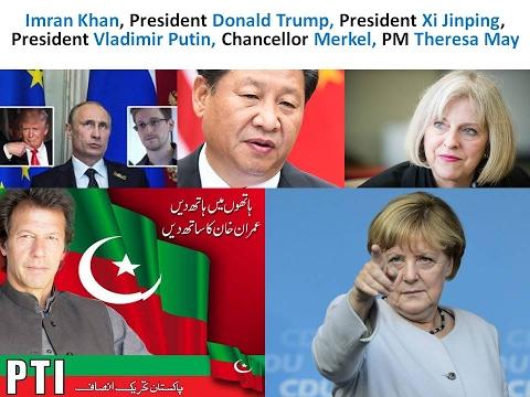 Gender? LEADERSHIP of Imran Khan, Trump, Xi Jinping, Putin, Merkel, Theresa