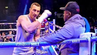 Wladimir Klitschko INTENSE SHADOW BOXING vs Anthony Joshua