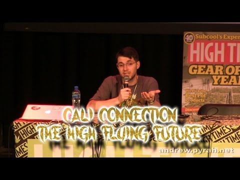 Cali Connection The High Flying Future with Swerve PART TWO Amsterdam Cannabis Cup Seminar 2014