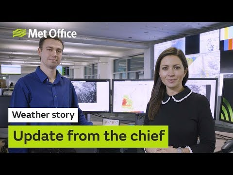 Chief Meteorologist gives latest on stormy weather hitting UK midweek