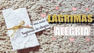 DIY Lágrimas de Alegria ! ♥ Fofissímo e fácil ♥