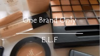 One Brand Tutorial | E.L.F Cosmetics