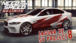 Need for Speed: No Limits - Jaguar XE SV Project 8 (ios) #64