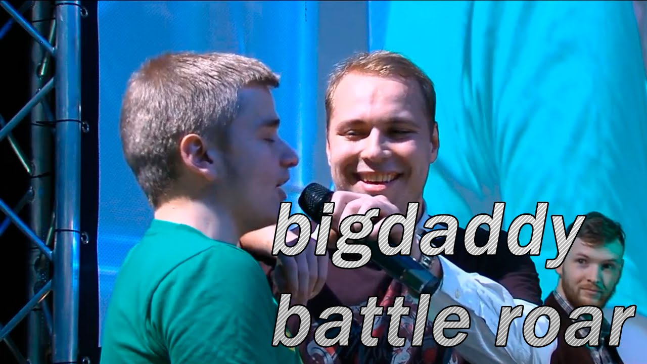"""BigDaddy battle roar """"IDI NAHUI"""" @ SLTV All Stars - YouTube  BigDaddy battle..."""