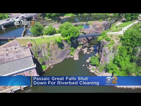 Paterson Great Falls Shut Down For Cleaning