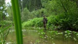 Рыбалка нахлыстом на ручьях