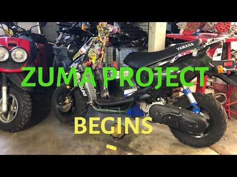 Yamaha Zuma project