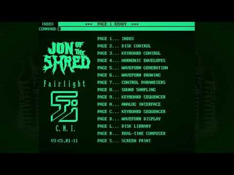 A Demonstration of Power - Jon of the Shred | Synthwave / Prog Rock / Fairlight CMI