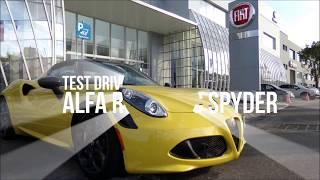 Test Drive : Alfa Romeo 4C Spyder