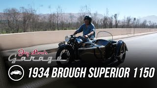 homepage tile video photo for 1934 Brough Superior 1150 - Jay Leno's Garage