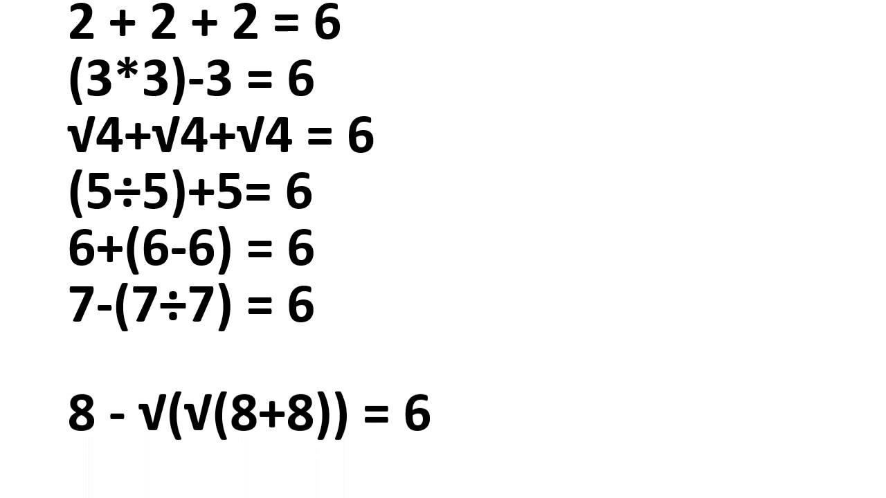 Puzzle Math Sum - YouTube