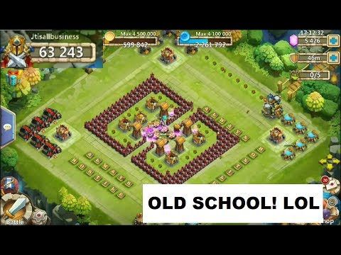 ThrowBack Castle Clash HOW TO FARM SHARDS 3 Years Old