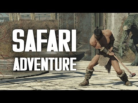 Safari Adventure - Cito, Gatorclaws, & the A.F.A.D. Radicals - Fallout 4 Nuka World Lore