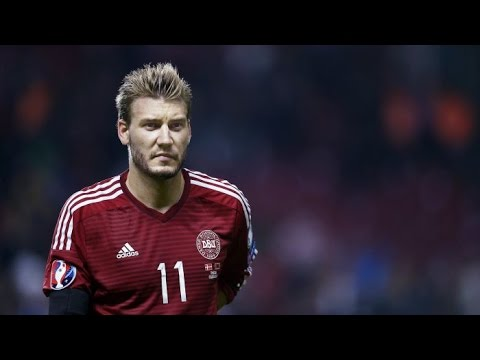 Nicklas Bendtner - The Viking Lord - All Goals for Denmark