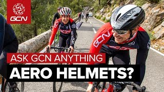 Aero Helmets, Sweet Spot Training & Road Dogs   Ask GCN Anything