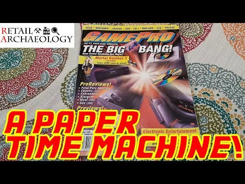 A Paper Time Machine! | GamePro June 1995: The Very First E3 Expo!