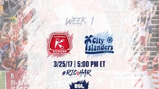 Richmond Kickers vs Harrisburg City Islanders full match