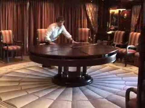 Mesa redonda ampliable youtube - Mesa que se levanta ...
