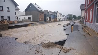 video: 'It was insane': Germany faced with biblical flooding scenes and more than 150 dead