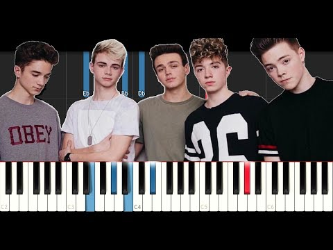 Why Don't We - Invitation (Piano Tutorial)
