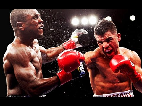 Victor Ortiz vs Andre Berto I (Highlights)