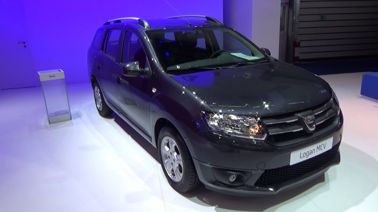2016 dacia logan mcv prestige exterior and interior iaa frankfurt 2015 youtube. Black Bedroom Furniture Sets. Home Design Ideas