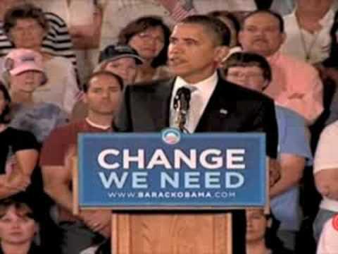 Barack Obama - We Need Change