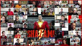 SHAZAM Trailer 2 | Reactions Mashup
