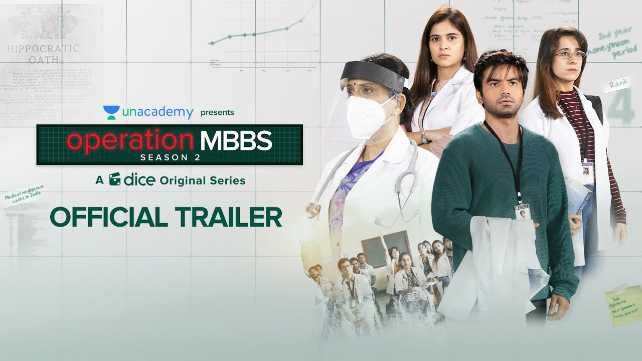 Download Dice Media   Operation MBBS   Season 2   Web Series   Official Trailer   Episode 1 out on 15th March