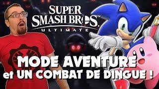 SUPER SMASH BROS ULTIMATE : MODE AVENTURE et UN COMBAT DE DINGUE ! Gameplay FR