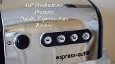 Flot Dualit 3in1 Espressomaskine - YouTube ZO-63