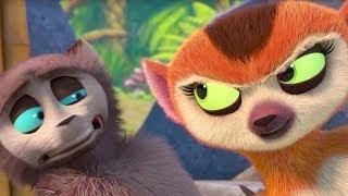 Saúdem Todos o Rei Julien   Clipe Engraçado   Madagascar   Desenhos Animados