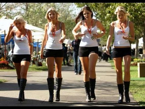 Glamour Girls around the Globe | F1 Grid Girls | model