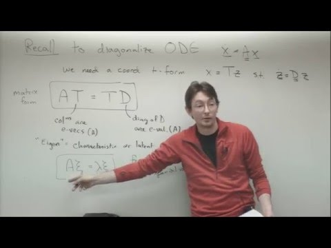 ME564 Lecture 7:  Eigenvalues, eigenvectors, and dynamical systems
